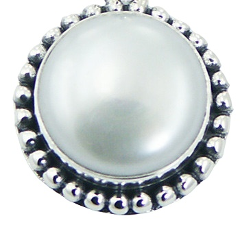 Balinese freshwater pearl silver pendant 2