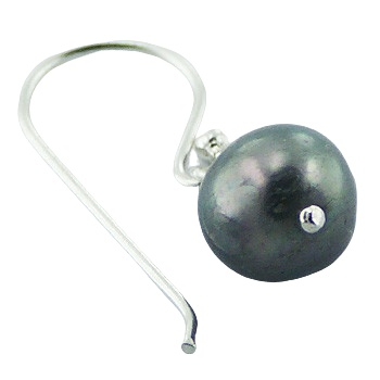 Freshwater pearls silver earrings 2