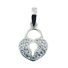 crystal-pendants/sterling-silver-heart-shaped