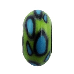 fimo-beads/lime-green-fimo-bead