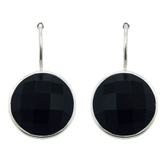 gemstone-drop-earrings/round-black-agate-gems_1