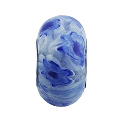 murano-glass-beads/floating-blue-flowers-white