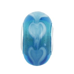 murano-glass-beads/frosty-blue-murano-glass