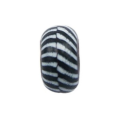 murano-glass-beads/intriguing-black-and-white