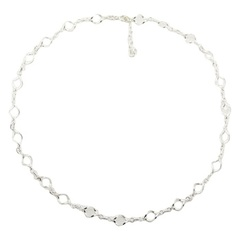 plain-silver-necklaces/delicate-twisted-open-leafs