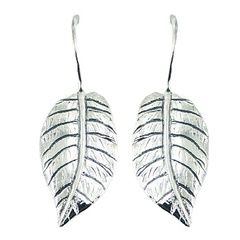 silver-drop-earrings/realistic-antiqued-sterling-silver