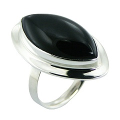 silver-gemstone-rings/classic-black-agate-sterling