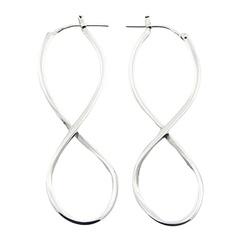 silver-hoop-earrings/handcrafted-infinity-symbol-sterling