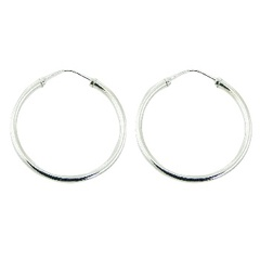 silver-hoop-earrings/sterling-silver-40mm-endless