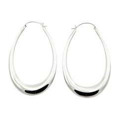 Swinging Sterling Silver Oval Jpg