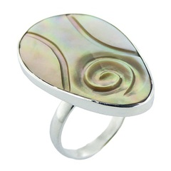silver-shell-rings/handmade-ovate-rainbow-shell