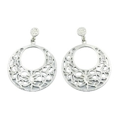 silver-stud-earrings/delicate-open-circle-sterling