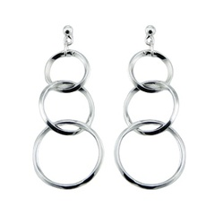 silver-stud-earrings/interlocked-triple-hoops-sterling_1