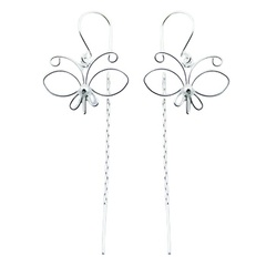 silver-threader-earrings/plain-silver-earrings-airy
