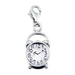 sterling-silver-charms/alarm-clock-925-silver