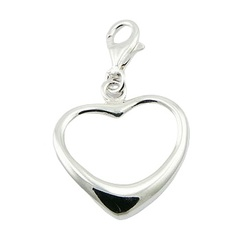 sterling-silver-charms/asymmetrical-silver-heart-outline