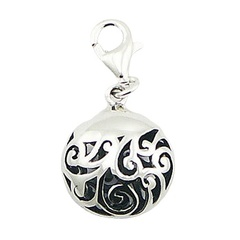 sterling-silver-charms/puffed-ajoure-sterling-silver