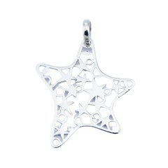 sterling-silver-pendants/925-silver-open-star
