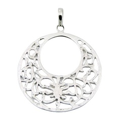 sterling-silver-pendants/open-ajoure-sterling-silver