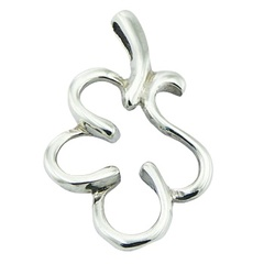 sterling-silver-pendants/rounded-sterling-silver-leaf