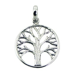 sterling-silver-pendants/rugged-antiqued-silver-tree