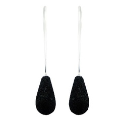 volcanic-lava-stud-earrings/pear-shaped-volcanic-lava